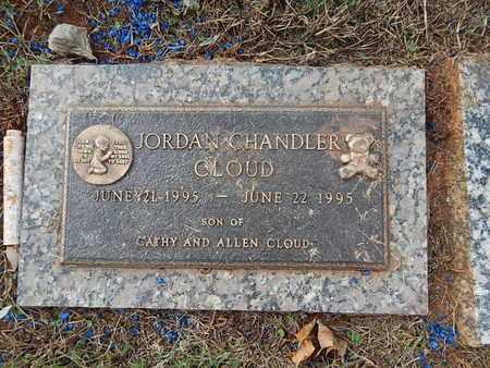 CLOUD, JORDAN CHANDLER - Knox County, Tennessee | JORDAN CHANDLER CLOUD - Tennessee Gravestone Photos