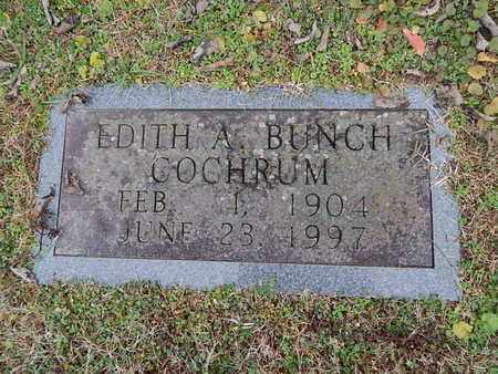 COCHRUM, EDITH A - Knox County, Tennessee | EDITH A COCHRUM - Tennessee Gravestone Photos