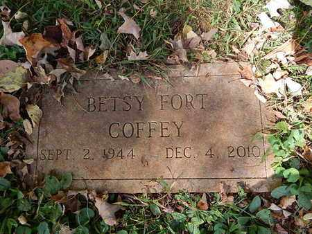 COFFEY, BETSY - Knox County, Tennessee | BETSY COFFEY - Tennessee Gravestone Photos
