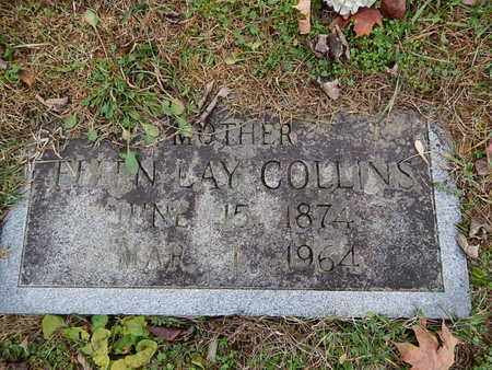 LAY COLLINS, ELLEN - Knox County, Tennessee | ELLEN LAY COLLINS - Tennessee Gravestone Photos