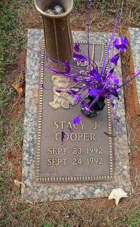 COOPER, STACY J - Knox County, Tennessee | STACY J COOPER - Tennessee Gravestone Photos