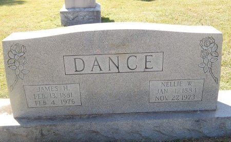 DANCE, NELLIE W - Knox County, Tennessee   NELLIE W DANCE - Tennessee Gravestone Photos