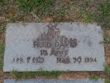DAVIS  (VETERAN), FRED - Knox County, Tennessee | FRED DAVIS  (VETERAN) - Tennessee Gravestone Photos