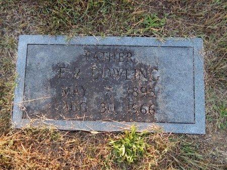 DOWLING, E R - Knox County, Tennessee | E R DOWLING - Tennessee Gravestone Photos