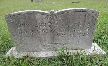 DOWNS, JOHN - Knox County, Tennessee | JOHN DOWNS - Tennessee Gravestone Photos