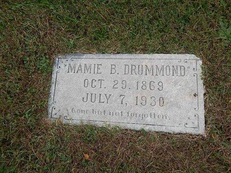 DRUMMOND, MAMIE B - Knox County, Tennessee | MAMIE B DRUMMOND - Tennessee Gravestone Photos