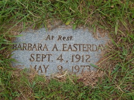 EASTERDAY, BARBARA A - Knox County, Tennessee | BARBARA A EASTERDAY - Tennessee Gravestone Photos