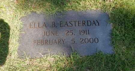 EASTERDAY, ELLA B - Knox County, Tennessee | ELLA B EASTERDAY - Tennessee Gravestone Photos