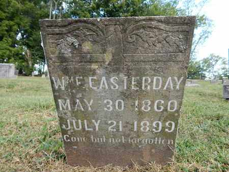 EASTERDAY, WILLIAM E - Knox County, Tennessee | WILLIAM E EASTERDAY - Tennessee Gravestone Photos
