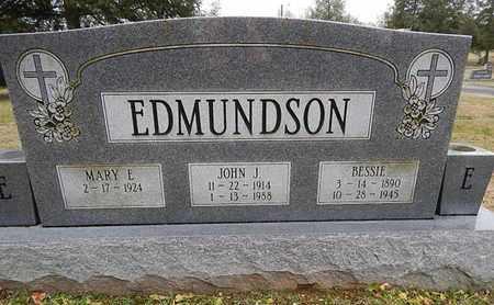 EDMUNDSON, JOHN J - Knox County, Tennessee | JOHN J EDMUNDSON - Tennessee Gravestone Photos