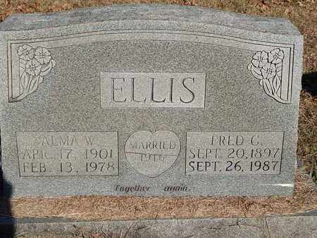 ELLIS, FRED C - Knox County, Tennessee | FRED C ELLIS - Tennessee Gravestone Photos