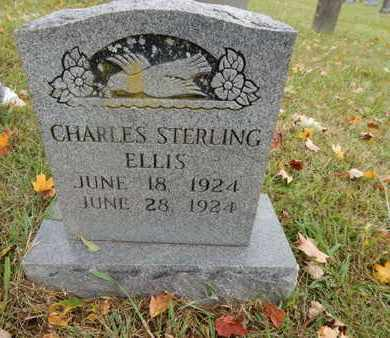 ELLIS, CHARLES STERLING - Knox County, Tennessee | CHARLES STERLING ELLIS - Tennessee Gravestone Photos