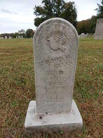 ELLIS, LANDON W - Knox County, Tennessee   LANDON W ELLIS - Tennessee Gravestone Photos