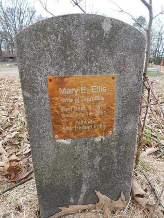 ELLIS, MARY E - Knox County, Tennessee | MARY E ELLIS - Tennessee Gravestone Photos