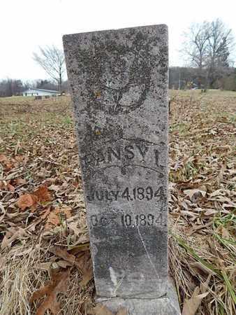 ELLIS, PANSY I - Knox County, Tennessee | PANSY I ELLIS - Tennessee Gravestone Photos