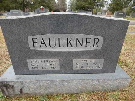 FAULKNER, ARCHIE - Knox County, Tennessee   ARCHIE FAULKNER - Tennessee Gravestone Photos