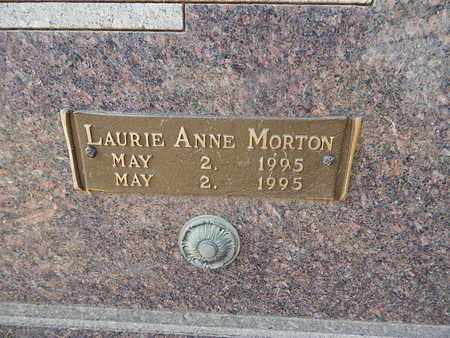FISHER, LAURIE ANNE MORTON (CLOSE-UP) - Knox County, Tennessee   LAURIE ANNE MORTON (CLOSE-UP) FISHER - Tennessee Gravestone Photos