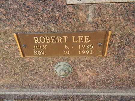 FISHER, ROBERT LEE (CLOSE-UP) - Knox County, Tennessee | ROBERT LEE (CLOSE-UP) FISHER - Tennessee Gravestone Photos