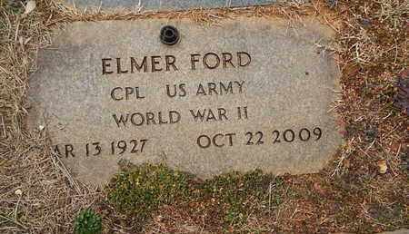 FORD  (VETERAN WWII), ELMER - Knox County, Tennessee   ELMER FORD  (VETERAN WWII) - Tennessee Gravestone Photos