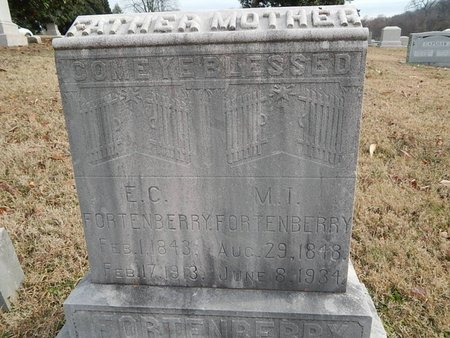 FORTENBERRY, E C AND M I - Knox County, Tennessee | E C AND M I FORTENBERRY - Tennessee Gravestone Photos
