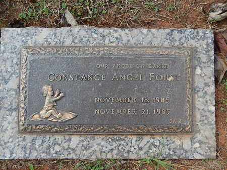 FOUST, CONSTANCE ANGEL - Knox County, Tennessee | CONSTANCE ANGEL FOUST - Tennessee Gravestone Photos