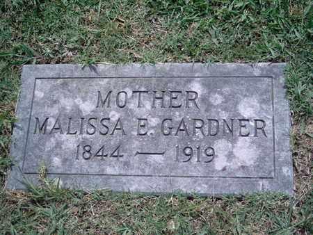 GARDNER, MALISSA E - Knox County, Tennessee | MALISSA E GARDNER - Tennessee Gravestone Photos