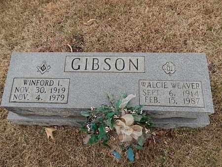 WEAVER GIBSON, WALCIE - Knox County, Tennessee | WALCIE WEAVER GIBSON - Tennessee Gravestone Photos