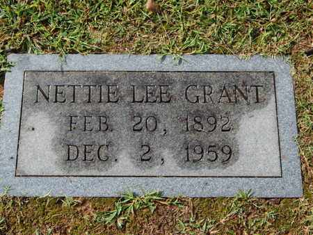 GRANT, NETTIE LEE - Knox County, Tennessee | NETTIE LEE GRANT - Tennessee Gravestone Photos