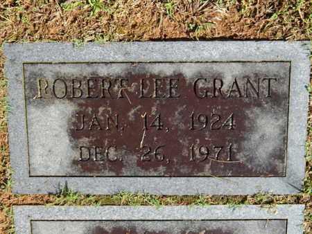 GRANT, ROBERT LEE - Knox County, Tennessee | ROBERT LEE GRANT - Tennessee Gravestone Photos