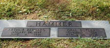 HAMMER, ARTHUR BERNARD - Knox County, Tennessee   ARTHUR BERNARD HAMMER - Tennessee Gravestone Photos