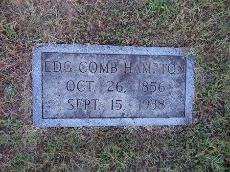 HAMPTON, EDG COMB - Knox County, Tennessee | EDG COMB HAMPTON - Tennessee Gravestone Photos