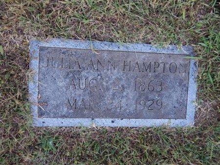 KEEN HAMPTON, JULIA ANN - Knox County, Tennessee | JULIA ANN KEEN HAMPTON - Tennessee Gravestone Photos