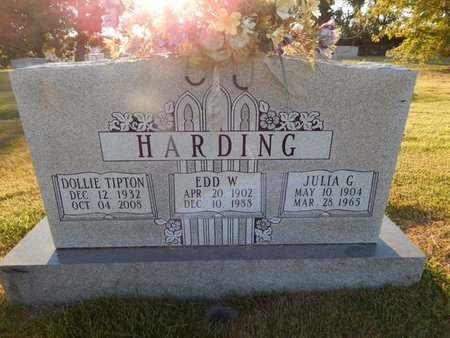 HARDING, JULIA G - Knox County, Tennessee   JULIA G HARDING - Tennessee Gravestone Photos