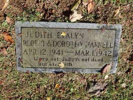 HARRELL, JUDITH EVALYN - Knox County, Tennessee | JUDITH EVALYN HARRELL - Tennessee Gravestone Photos