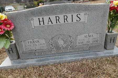 HARRIS, ALMA - Knox County, Tennessee | ALMA HARRIS - Tennessee Gravestone Photos