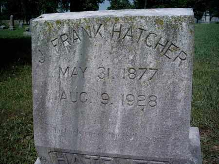 HATCHER, J FRANK - Knox County, Tennessee | J FRANK HATCHER - Tennessee Gravestone Photos