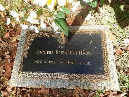 HAUB, JENNIFER ELIZABETH - Knox County, Tennessee | JENNIFER ELIZABETH HAUB - Tennessee Gravestone Photos