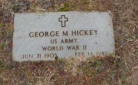 HICKEY  (VETERAN WWII), GEORGE M - Knox County, Tennessee | GEORGE M HICKEY  (VETERAN WWII) - Tennessee Gravestone Photos