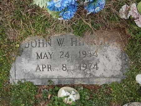 HINKLE, JOHN W - Knox County, Tennessee   JOHN W HINKLE - Tennessee Gravestone Photos