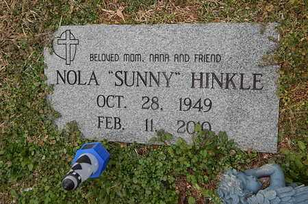 "HINKLE, NOLA ""SUNNY"" - Knox County, Tennessee   NOLA ""SUNNY"" HINKLE - Tennessee Gravestone Photos"