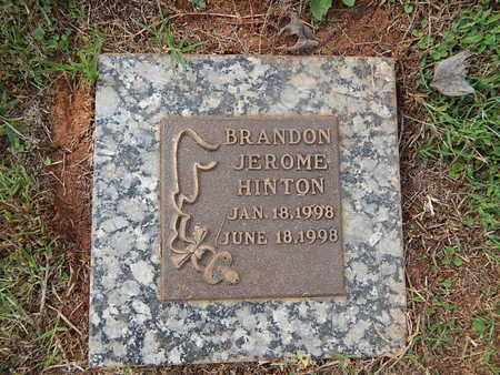 HINTON, BRANDON JEROME - Knox County, Tennessee | BRANDON JEROME HINTON - Tennessee Gravestone Photos