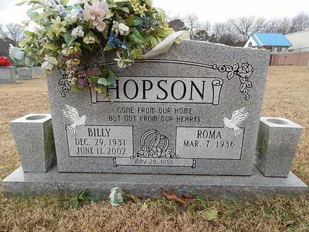 HOPSON, BILLY - Knox County, Tennessee | BILLY HOPSON - Tennessee Gravestone Photos
