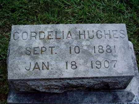 HUGHES, CORDELIA - Knox County, Tennessee   CORDELIA HUGHES - Tennessee Gravestone Photos