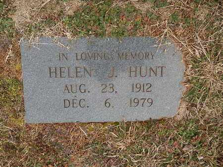HUNT, HELEN J - Knox County, Tennessee | HELEN J HUNT - Tennessee Gravestone Photos