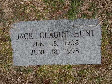 HUNT, JACK CLAUDE - Knox County, Tennessee | JACK CLAUDE HUNT - Tennessee Gravestone Photos