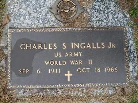 INGALLS  (VETERAN WWII), CHARLES S JR - Knox County, Tennessee   CHARLES S JR INGALLS  (VETERAN WWII) - Tennessee Gravestone Photos