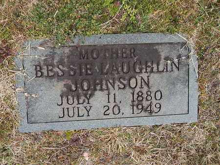 LAUGHLIN JOHNSON, BESSIE - Knox County, Tennessee | BESSIE LAUGHLIN JOHNSON - Tennessee Gravestone Photos
