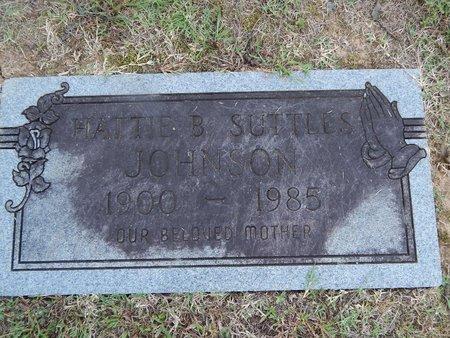 JOHNSON, HATTIE B - Knox County, Tennessee   HATTIE B JOHNSON - Tennessee Gravestone Photos