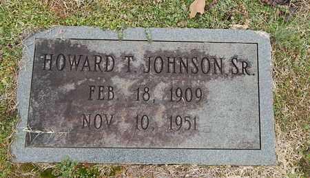 JOHNSON, HOWARD T SR - Knox County, Tennessee | HOWARD T SR JOHNSON - Tennessee Gravestone Photos