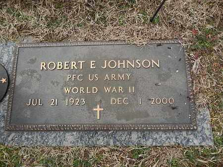 JOHNSON  (VETERAN WWII), ROBERT E - Knox County, Tennessee | ROBERT E JOHNSON  (VETERAN WWII) - Tennessee Gravestone Photos